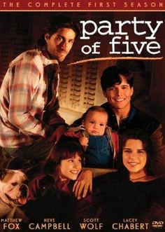 Party of Five (1994-2000) Five siblings are left to find their own way in the world when their parents are killed by a drunk driver. The series revolves around the struggles of raising each other and the struggles of life in general.