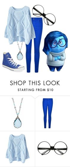 """Inside Out: Sadness"" by madalynkw on Polyvore featuring Lonna & Lilly, Disney, J Brand and Clinical Care Skin Solutions"