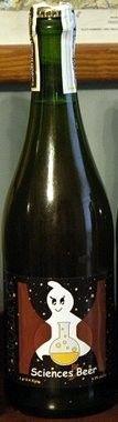 Cerveja Fantôme / Hill Farmstead 5 Sciences, estilo Saison / Farmhouse, produzida por Fantôme, Bélgica. 6.5% ABV de álcool.