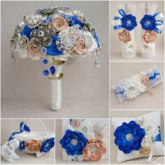 This flower girl basket could be made in any color scheme.Please note that shipping will be calculated according to the destination.Shipping takes weeks.Wedding packages are availabale upon requets. Silver Winter Wedding, Blue Wedding, Wedding Color Schemes, Wedding Colors, Royal Blue Flowers, Flower Girl Basket, Bride Bouquets, Wedding Inspiration, Wedding Ideas