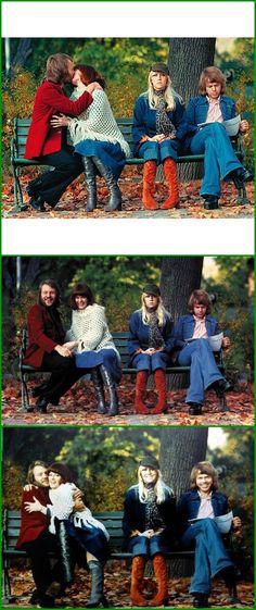 The Famous Park Bench... 1975