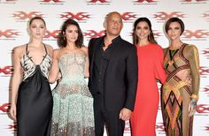 "Nina Dobrev Photos Photos - (L-R) Hermione Corfield, Nina Dobrev, Vin Diesel, Deepika Padukone and Ruby Rose attend the European Premiere of Paramount Pictures' ""xXx: Return of Xander Cage"" on January 10, 2017 in London, United Kingdom. - Paramount Pictures' 'xXx: Return of Xander Cage' - European Premiere"