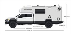 9 Awesome Expedition Vehicles You Need To See! - Awesome Stuff 365 Expedition Vehicles For Sale, Expedition Truck, Rv Vehicle, Best Campervan, Ford F550, Caterpillar Engines, Cj Jeep, Overland Trailer, Fiat Ducato