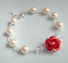 Red Rose Princess Bracelet....christmas list addition......check! :) lol