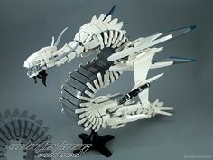 This space dragon evolved with ferocity