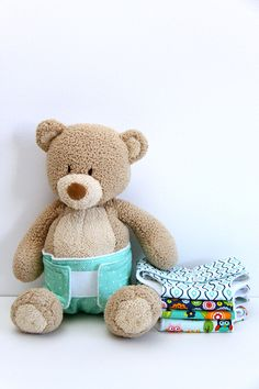Riley Blake Project Design Team: Dolly Diaper Tutorial - Smashed Peas & Carrots