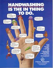This would be perfect to post in your adult or school-age bathrooms. Care-Tech Laboratories,Inc-Antiseptics,Wound Infection,Topical Infections Health Lessons, Health Tips, Hygiene Lessons, Hand Hygiene Posters, School Nurse Office, School Nursing, Hand Washing Poster, Home Safety Tips, Health Fair
