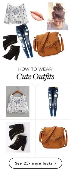 """The cute outfit"" by ashrushzoo on Polyvore featuring MDMflow"