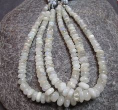 Full Strand RAINBOW  MOONSTONE   rondelle beads by JaiVyavsayBeads, $8.99