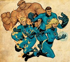 The World's Greatest Team. Marvel Comics' First Family. The Superhero Family. The Fantastic Four are a classic Marvel Universe superhero team, consisting of … Comic Book Artists, Comic Book Characters, Marvel Characters, Comic Artist, Comic Character, Comic Books Art, Marvel Movies, Captain Marvel, Hq Marvel