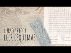 Cómo leer los diagramas de tejido a dos agujas / Explicación completa   Crochet y Dos agujas - Patrones de tejido
