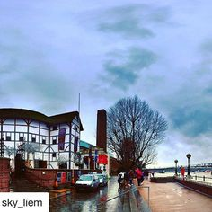A beautiful photo of Bankside, this. Globe Theatre, London, Photo And Video, Big, Places, Beautiful, Instagram, London England, Lugares