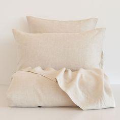 Natural-Color Linen Bedding - Bedding - Bedroom | Zara Home United States