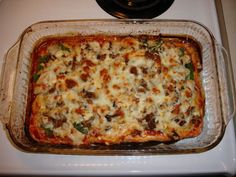 Grilled chicken and shredded beef pizza. No carb crust!