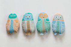 Owl Plushies - Emily Rose Thomson