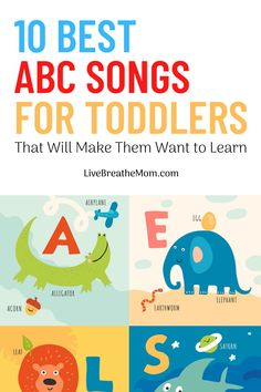 10 Best ABC Songs For Toddlers
