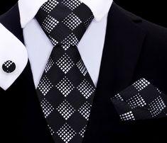 Mamba Tie Set XL TwentyDollarTie - High Quality Silk Ties and Bow Ties Diamond Mines, Silk Ties, Bow Ties, Stylish Mens Fashion, Men's Fashion, Novelty Ties, Tie And Pocket Square, Tie Set, Red And Grey