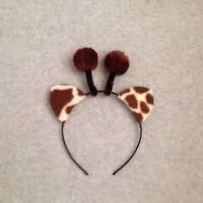 Image result for diy giraffe ears