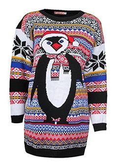 Forever Women's Aztec Penguin Print Neon Colourful Christmas Jumper Forever http://www.amazon.com/dp/B00G9BBP7Q/ref=cm_sw_r_pi_dp_EsPkwb1FEPP1Y