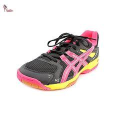 Asics Gel-Rocket 6 Femmes US 12 Noir Chaussure de Tennis - Chaussures asics (*Partner-Link)