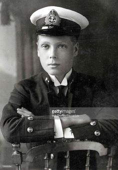 A portrait of Edward VIII, the eldest son of George V born in Richmond, Surrey. Picture shows him wearing uniform when he was in the Navy (in World War I) and the Army. He succeeded his father (20th January1936), but abdicated (11th December) on account of general disapprobation of his proposed marriage to Mrs Wallis Simpson.