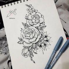 21 Ideas tattoo mandala rose flowers for 2019 Diy Tattoo, Form Tattoo, Shape Tattoo, Tattoo Tree, Tattoo Ideas, Tattoo Thigh, Tattoo Ink, Side Tattoos, Arrow Tattoos