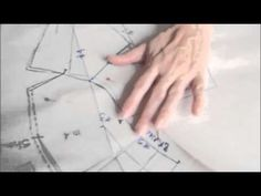 How to make the pattern of the tailored collar. - YouTube
