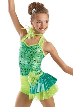 Sequin Mesh Halter Leotard -Weissman Costumes Love it!