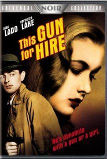 This gun for hire 1942, When hired killer Philip Raven shoots a blackmailer and his beautiful female companion dead, hes is paid off in marked bills by his treasonous employer who is working with foreign spies.
