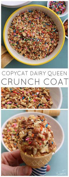 Copycat Dairy Queen Crunch Cone alright alright!!! Mmmm