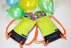 Kids Birthday Party - Mini Backpacks as Take Home treat Bags