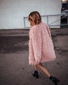 WEBSTA @ cristinamonti - *GIVEAWAY #4* @sanctuaryclothing fluffy coat. You know the drill:- Like this pic- Follow @cristinamonti - Follow @sanctuaryclothing- Tag 3 friends- Winner will be chosen at random