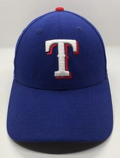 fbb29a5b10c MLB Texas Rangers Cap Hat Adult Adjustable New Era 9Forty 100% Polyester  Blue
