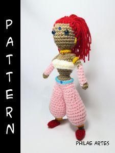 Nabooru from Legend of Zelda free crochet pattern