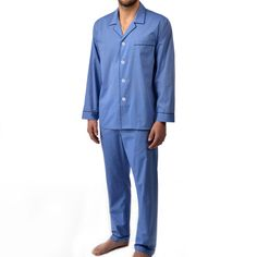 Majestic Men s Big and Tall Cotton Basics Longsleeve Pajama Set - Free  Ground shipping for a fcfd8c556