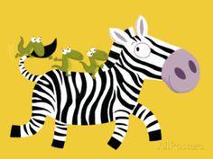 The Zebra Prints by Nathalie Choux at AllPosters.com Framed Artwork, Wall Art Prints, Poster Prints, Banksy, Zebra Illustration, Art Rose, Minnie Mouse, Zebra Art, Frames For Canvas Paintings