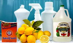 Recipes for a Green Clean from Small Footprint Family - includes a great glass cleaner