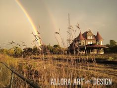 stunning post-storm light (not retouched or filtered!) | shiawassee county, michigan    ::::::::::::::::::::::::::::::::::::::::::::::::           #puremichigan #michigan #shiawasseecounty #photography #rainbow #nature #light #alloraartanddesign