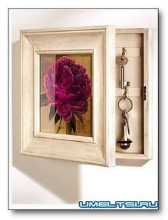 Diy And Home Improvement, Picture Frames, Wooden Bed, Home Decor, Bottles Decoration, Key Holder, Key Hanger, Wood Wall Clock, Diy Home Decor Projects