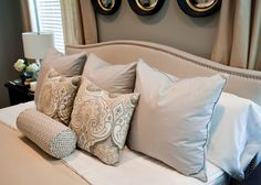 Before & After: Master Bedroom Makeover Reveal! @ A Well Dressed Home, headboard