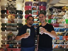 Cheers!  Welcome to  Hong Kong! @joshfriedberg awesome you stopped by! #hkskateboarding