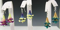 Kristie Foss Creations: Sweet Little Floral Jewels