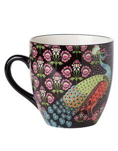 PANCHI XL mug black | Mugs/cups | null | Glass and Porcelain | Home | INDISKA Shop Online