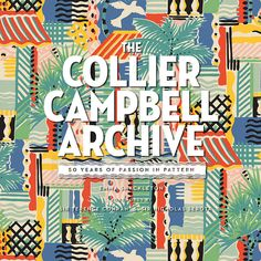 Excellent retrospective of the 50 year output of Collier Campbell fabrics. Unfortunately there are very few good examples online of excerpts from the book. Look for it - it's beautiful.