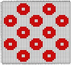 Option For Tiled Quilt - Knitting - Fo Option - Diy Crafts - Qoster Tapestry Crochet Patterns, Crochet Quilt, Crochet Blocks, Crochet Stitches Patterns, Crochet Chart, Filet Crochet, Crochet Motif, Beading Patterns, Cross Stitch Patterns