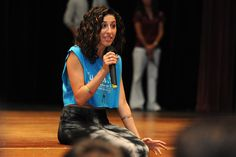 Devyn Rush, spokesperson for bullying prevention organization Hey Unique Gifted Loveable You, or Hey UGLY, speaks with students Aug. 16 at Sand Creek High School in Falcon School District 49. The school's students sold the most tickets to the district's Stand Up. Speak Out. anti-bullying concert Aug. 17 at Security Service Field in Colorado Springs. What an awesome person she is and do kind hearted!!!