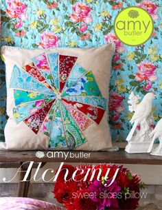 Amy Butler Design sweet slices pillow pattern