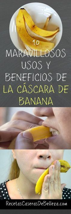 Beneficios De La Cáscara De Banana