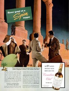 1938 Canadian Club - Vacation in Syria