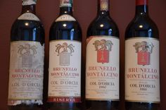The reason to taste some of the older vintages of Col d´Orcia Brunello is that Antonio Galloni made a big vertical tasting of their Riserva, Poggio al Vento and spoke highly of some of the older Riserva´s. Before the first vintage of Poggio al Vento in 1982, the Riserva´s were made almost exclusively from grapes from that vineyard. And we had three of them before us.